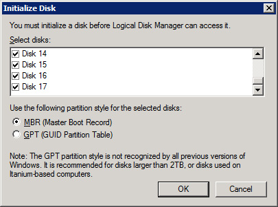 Expanding DPM Storage with the Dell MD1000 | danbrust net