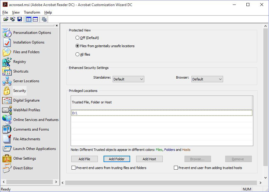 Deploying Adobe Reader Via Group Policy | danbrust net: the blog